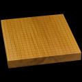 本榧卓上碁盤 1寸7分(一枚板・木裏) gb10126