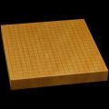 本榧卓上碁盤 1寸8分(一枚板・木表) gb10127