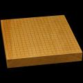 本榧卓上碁盤 1寸9分(一枚板・天柾) gb10130