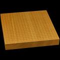 本榧卓上碁盤 1寸9分(一枚板・天柾) gb10131