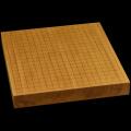 本榧卓上碁盤 1寸8分(一枚板・天地柾) gb10132