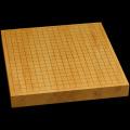 本榧卓上碁盤 1寸7分(一枚板・天柾) gb10135