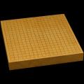 本榧卓上碁盤 1寸8分(一枚板・天柾) gb10138
