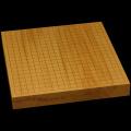 本榧卓上碁盤 1寸8分(一枚板・木表) gb10139