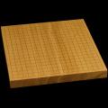 本榧卓上碁盤 1寸3分(一枚板・木表) gb10140