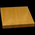 本榧卓上碁盤 1寸7分(一枚板・天柾) gb10142