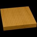 本榧卓上碁盤 1寸9分(一枚板・追柾) gb10148