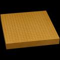 本榧卓上碁盤 1寸8分(一枚板・天柾) gb10149