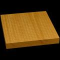 本榧卓上碁盤 1寸7分(一枚板・木裏) gb10150