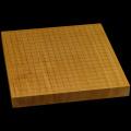 本榧卓上碁盤 1寸5分(一枚板・天地柾) gb10152