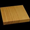 本榧卓上碁盤 1寸9分(一枚板・天柾) gb10159