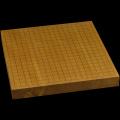 本榧卓上碁盤 1寸6分(一枚板・天地柾) gb10160
