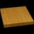 本榧卓上碁盤 1寸7分(一枚板・四方柾) gb10163