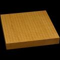 本榧卓上碁盤 1寸9分(一枚板・木裏) gb10164