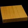 本榧卓上碁盤 2寸3分(一枚板・天柾) gb20210