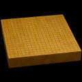 本榧卓上碁盤 2寸2分(一枚板・天柾) gb20217
