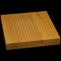 本榧卓上碁盤 2寸(一枚板・木裏) gb20218