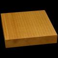 本榧卓上碁盤 2寸5分(一枚板・天柾) gb20222