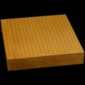本榧卓上碁盤 2寸5分(一枚板・天柾) gb20224