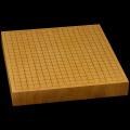 本榧卓上碁盤 2寸(一枚板・天地柾) gb20225