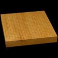 本榧卓上碁盤 1寸9分(一枚板・木裏) gb20226