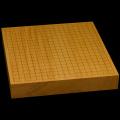 本榧卓上碁盤 2寸2分(一枚板・追柾) gb20227