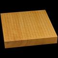 本榧卓上碁盤 2寸1分(一枚板・天柾) gb20229