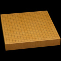 本榧卓上碁盤 2寸(一枚板・天地柾) gb20230