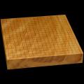 本榧卓上碁盤 2寸2分(一枚板・天柾) gb20231