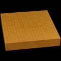 本榧卓上碁盤 2寸3分(一枚板・木裏) gb20232