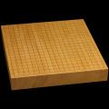 本榧卓上碁盤 2寸1分(一枚板・天柾) gb20233
