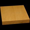 本榧卓上碁盤 2寸2分(一枚板・木表) gb20234