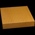 本榧卓上碁盤 2寸6分(一枚板・木裏) gb20236