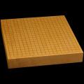 本榧卓上碁盤 2寸1分(一枚板・天地柾) gb20239