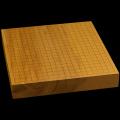 【訳あり】本榧卓上碁盤 2寸2分(一枚板・天柾) gb20240