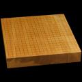 本榧卓上碁盤 2寸3分(一枚板・天柾) gb20241
