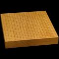 本榧卓上碁盤 2寸1分(一枚板・木裏) gb20242