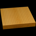 本榧卓上碁盤 2寸(一枚板・木裏) gb20245