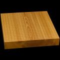 本榧卓上碁盤 2寸2分(一枚板・木裏) gb20246