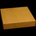 本榧卓上碁盤 2寸7分(一枚板・天地柾) gb20247