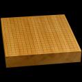 本榧卓上碁盤 2寸5分(一枚板・追柾) gb20249