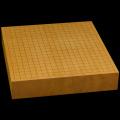 本榧卓上碁盤 2寸7分(一枚板・天地柾) gb20250
