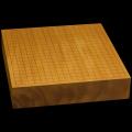 本榧卓上碁盤 2寸9分(一枚板・木表) gb20251