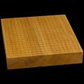 本榧卓上碁盤 2寸5分(一枚板・追柾) gb20256