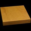 本榧卓上碁盤 2寸2分(一枚板・天地柾) gb20257