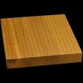 本榧卓上碁盤 2寸1分(一枚板・天地柾) gb20258