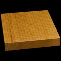 本榧卓上碁盤 2寸4分(一枚板・天地柾) gb20261