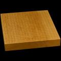 本榧卓上碁盤 2寸1分(一枚板・木裏) gb20262