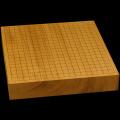 本榧卓上碁盤 2寸4分(一枚板・追柾) gb20265