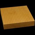 本榧卓上碁盤 2寸7分(一枚板・天柾) gb20274